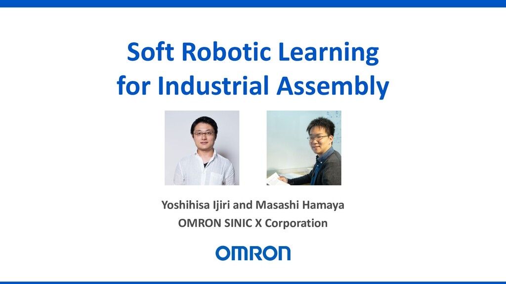 Soft Robotic Learning for Industrial Assembly Y...