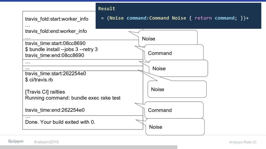 #railsdm2019 Analyze Rails CI travis_fold:start...