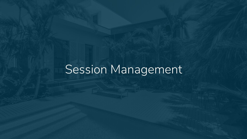 22 Session Management