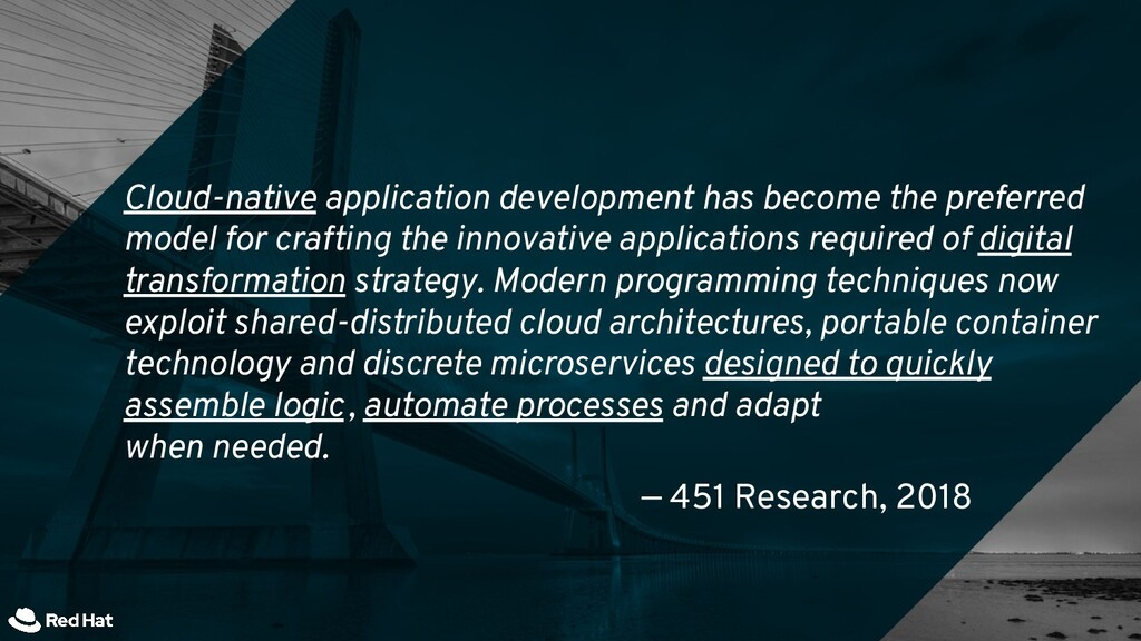 Cloud-native application development has become...
