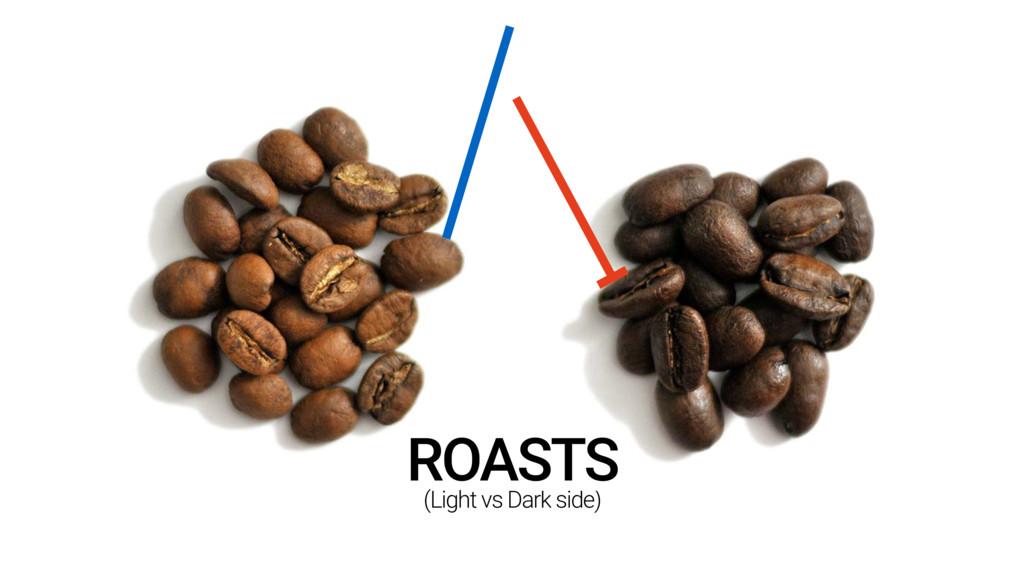(Light vs Dark side) ROASTS