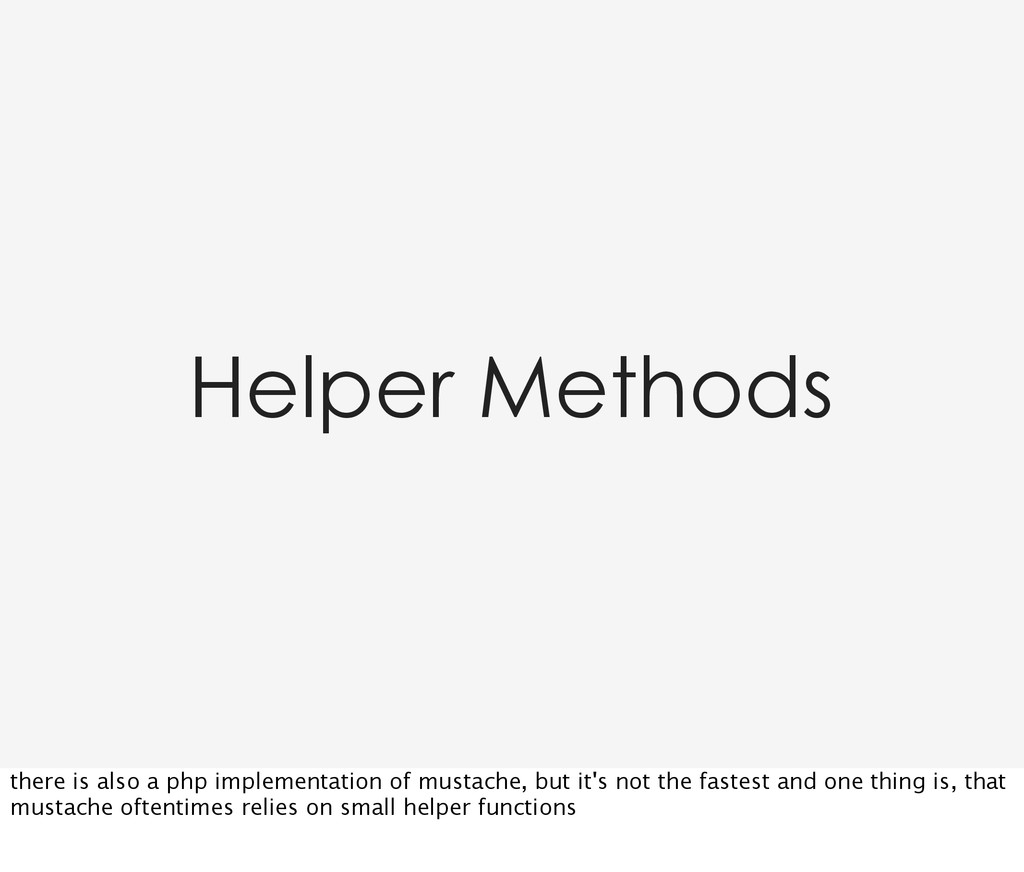 Helper Methods there is also a php implementati...