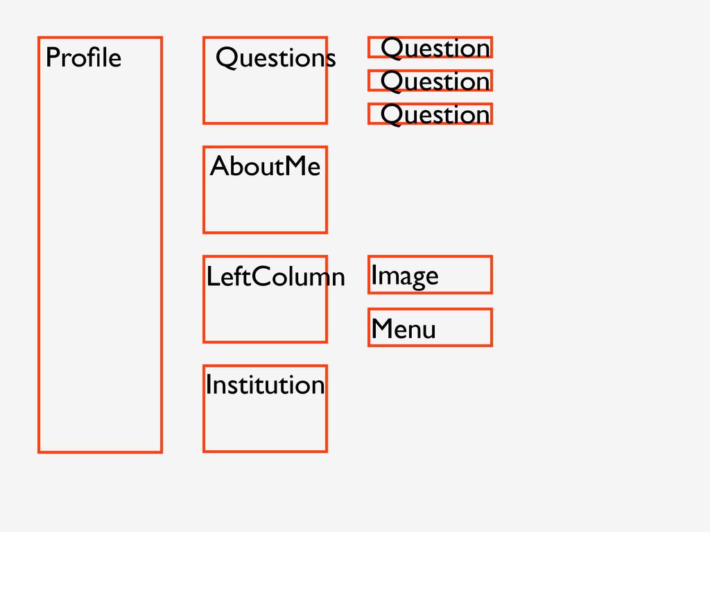 Profile Questions Question Question Question Abo...