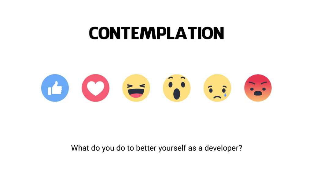 What do you do to better yourself as a develope...