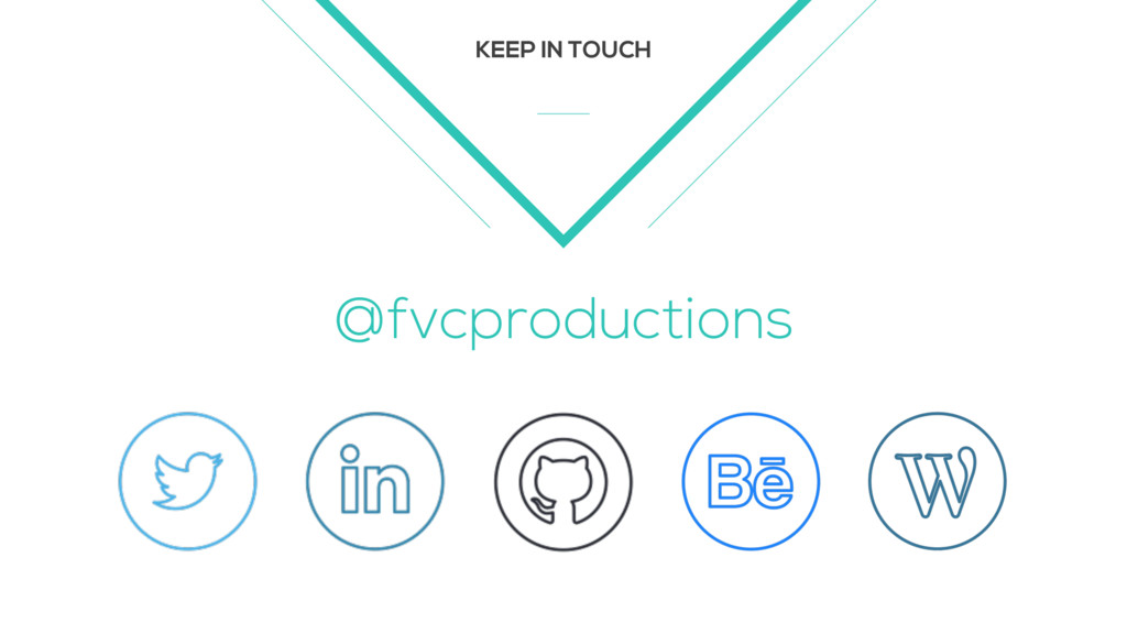 KEEP IN TOUCH @fvcproductions