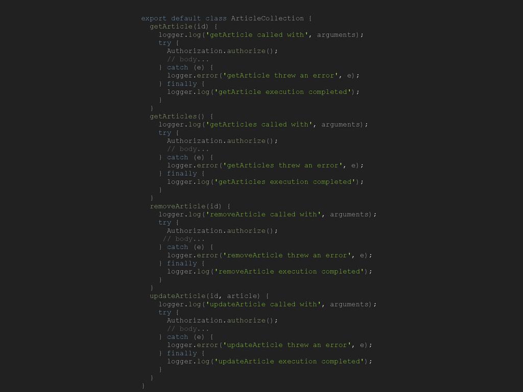 export default class ArticleCollection { getArt...