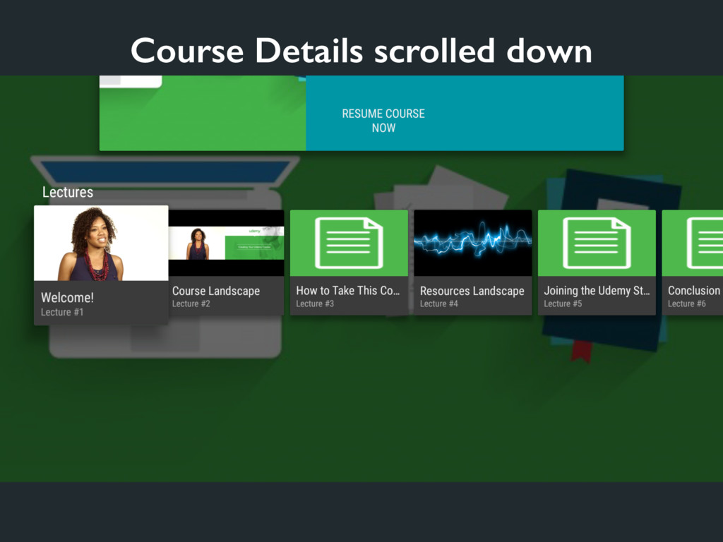 Course Details scrolled down