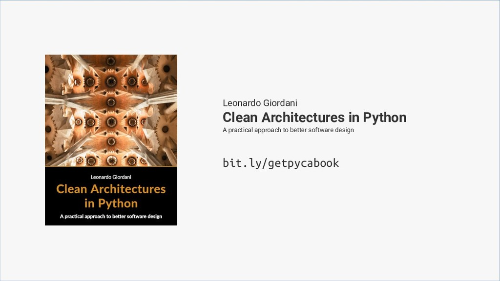 Clean Architectures in Python A practical appro...