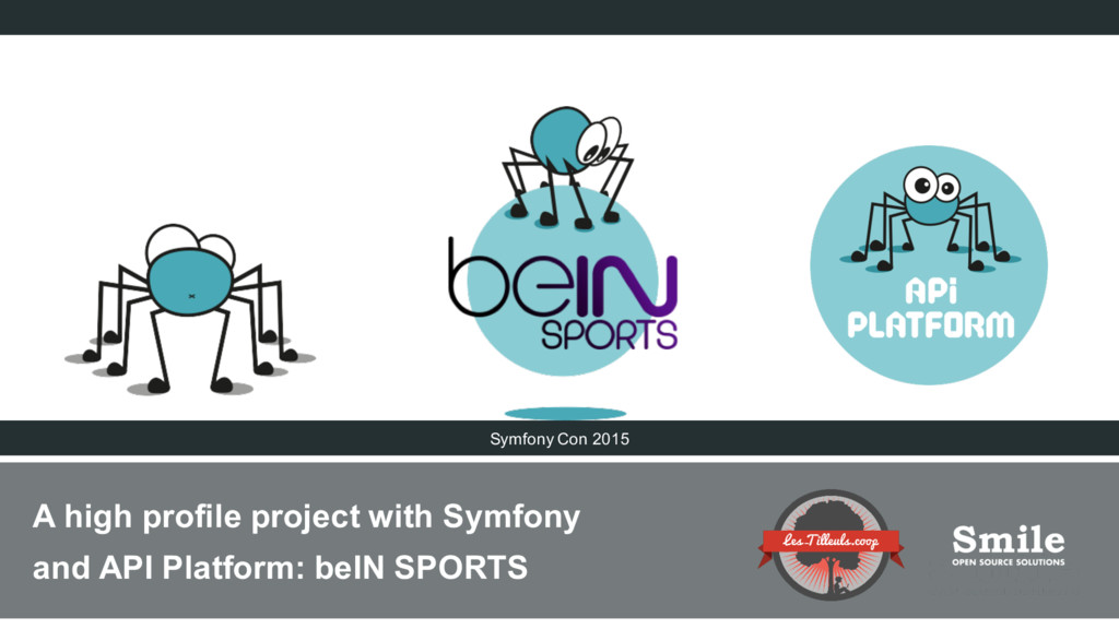 A high profile project with Symfony and API Pla...