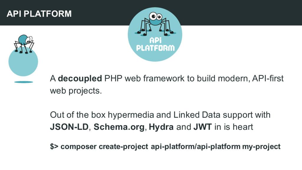 A decoupled PHP web framework to build modern, ...