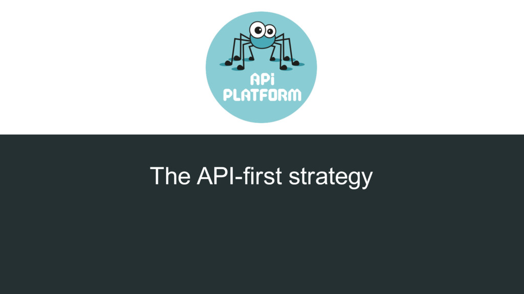 The API-first strategy