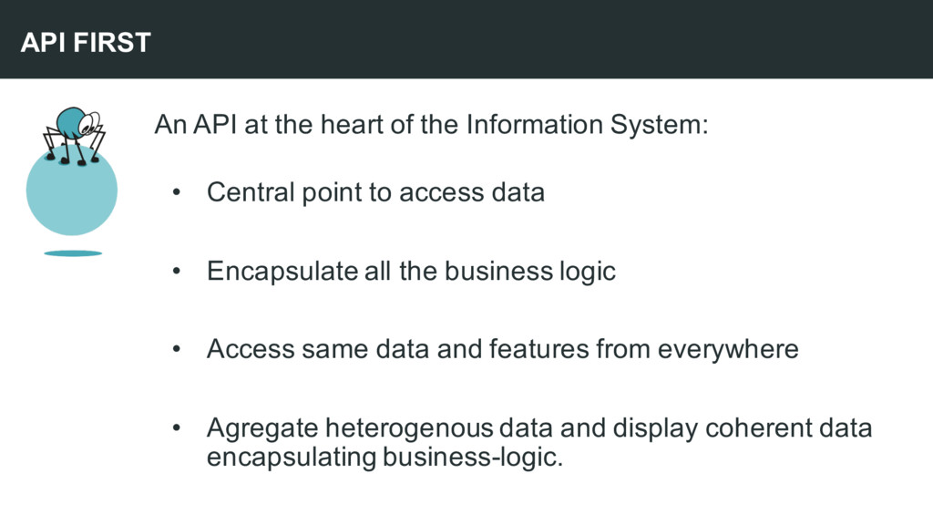 An API at the heart of the Information System: ...