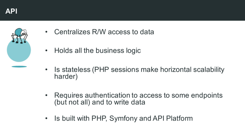 • Centralizes R/W access to data • Holds all th...