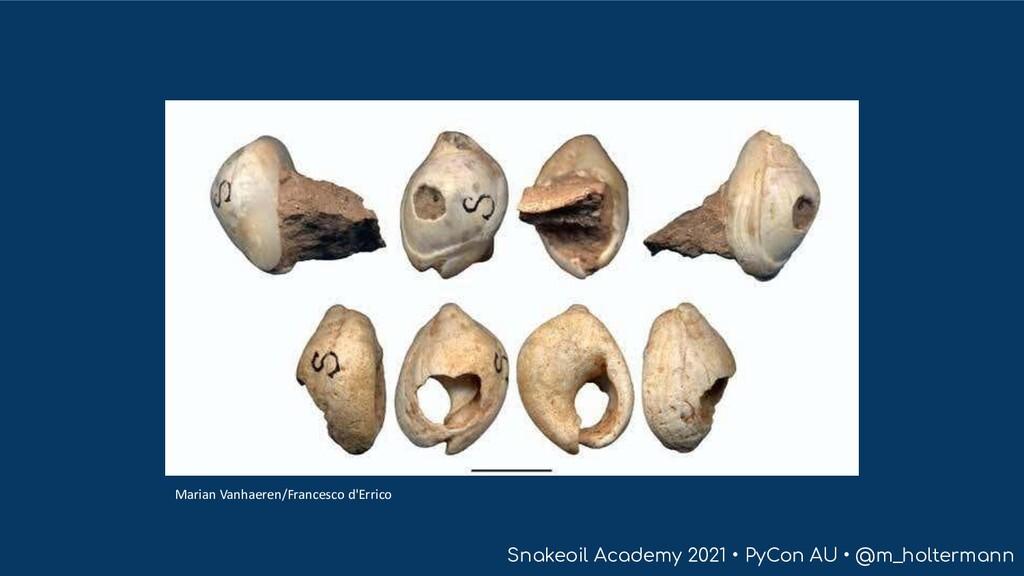 Snakeoil Academy 2021 • PyCon AU • @m_holterman...