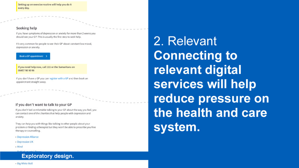 2. Relevant Connecting to relevant digital serv...