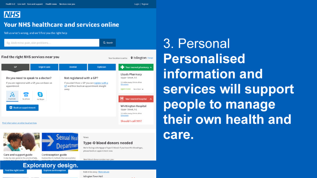 3. Personal Personalised information and servic...