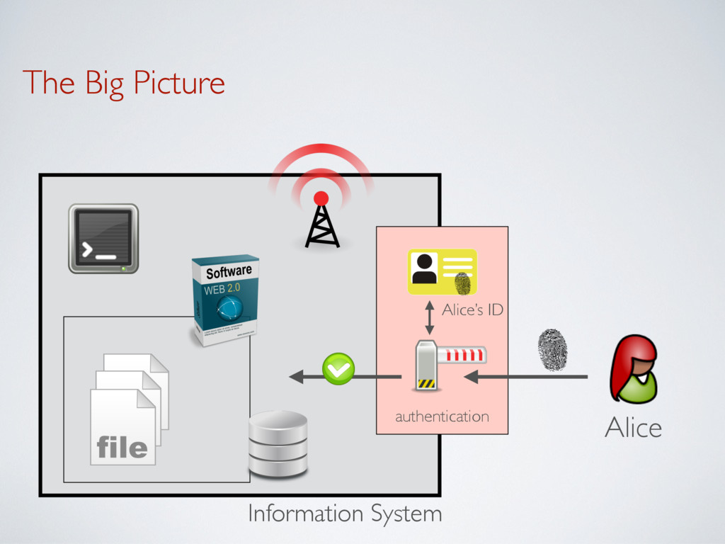 The Big Picture Information System authenticati...