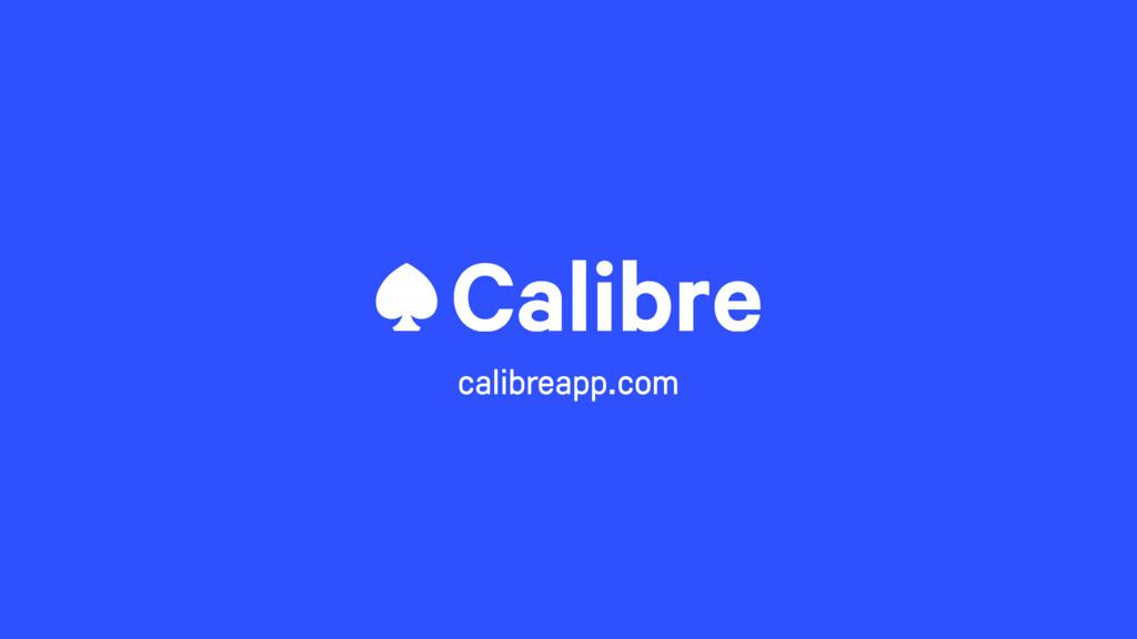 calibreapp.com