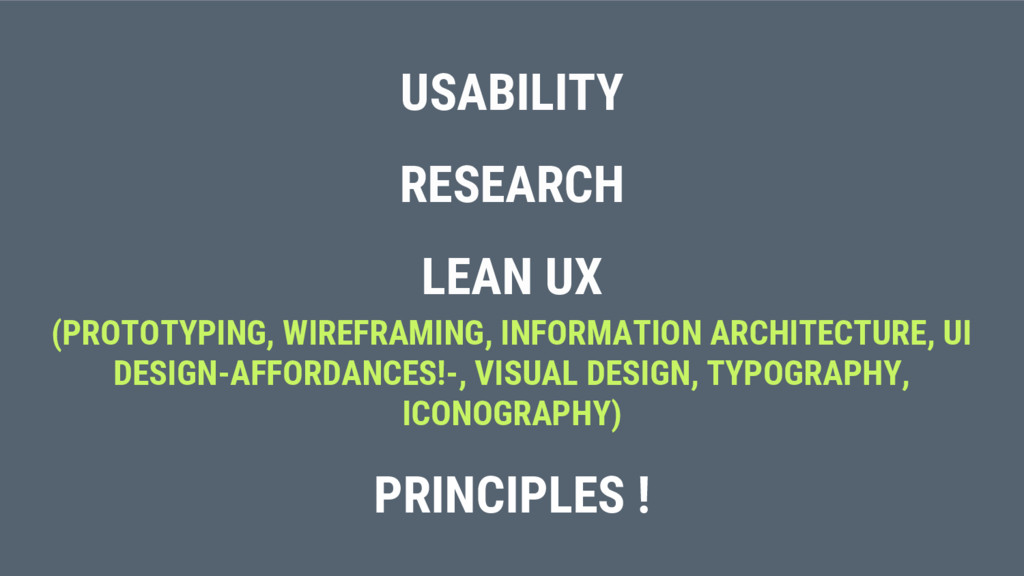 USABILITY RESEARCH LEAN UX (PROTOTYPING, WIREFR...