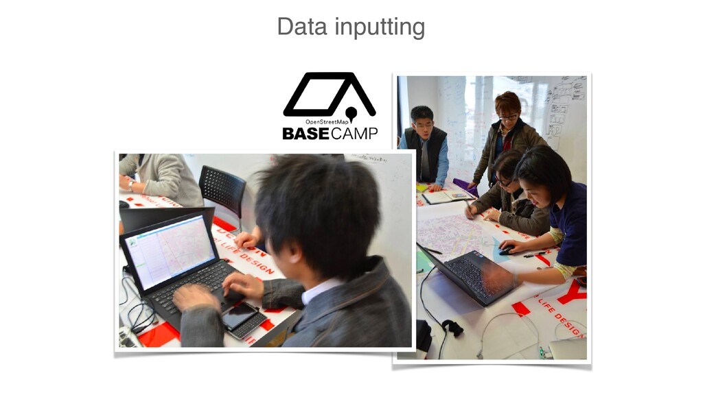Data inputting