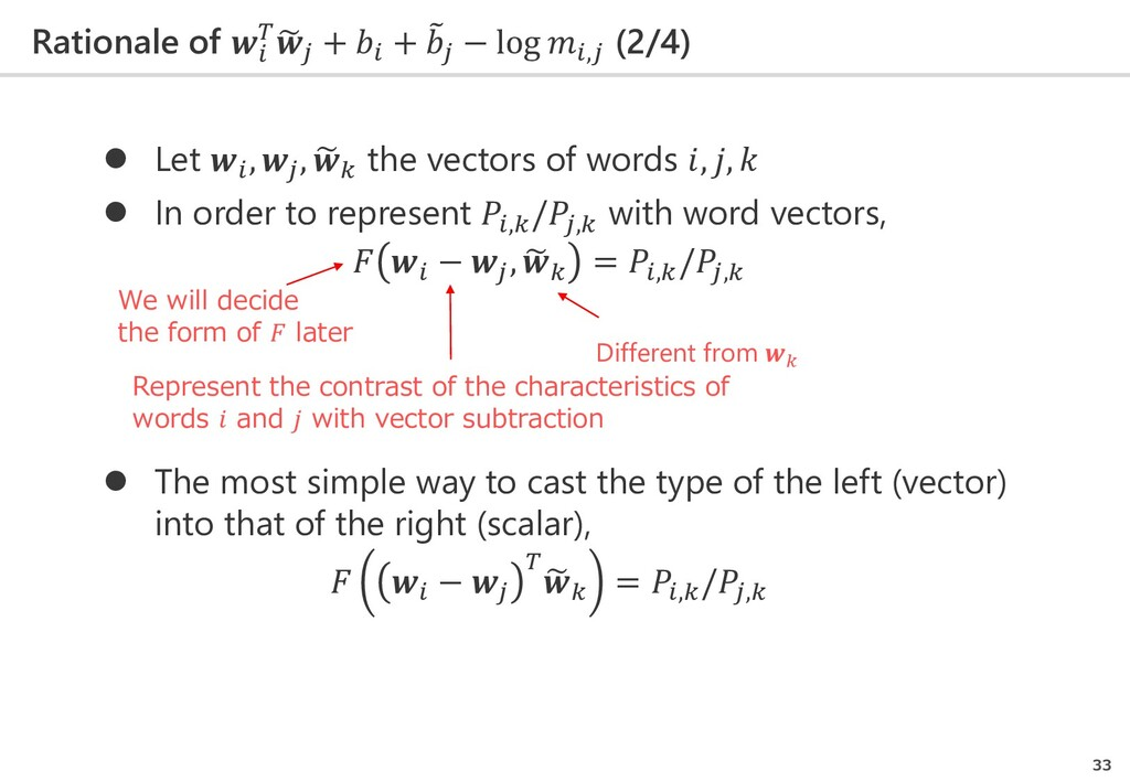 Rationale of   � 𝑗𝑗 +  + � 𝑗𝑗 − log ,𝑗𝑗 (2/4) 3...