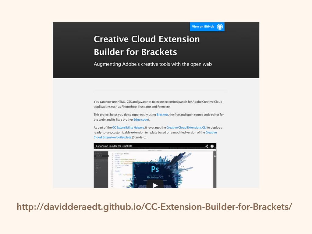 http://davidderaedt.github.io/CC-Extension-Buil...