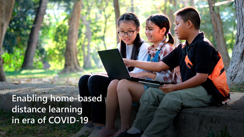 Enabling home-based distance learning in era of...