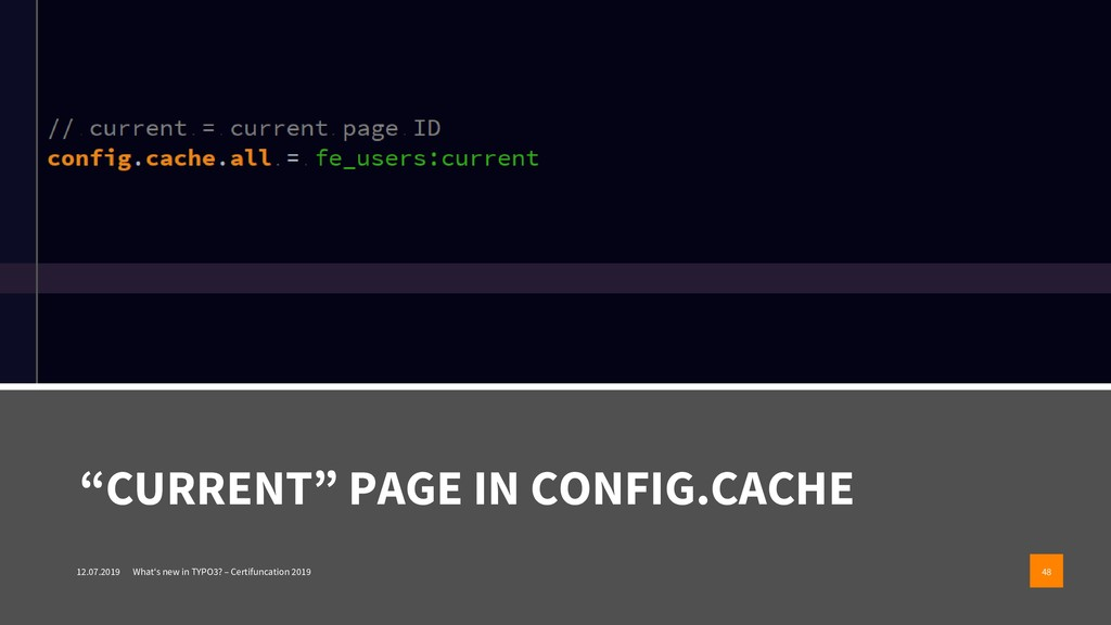 """""""CURRENT"""" PAGE IN CONFIG.CACHE 12.07.2019 What'..."""