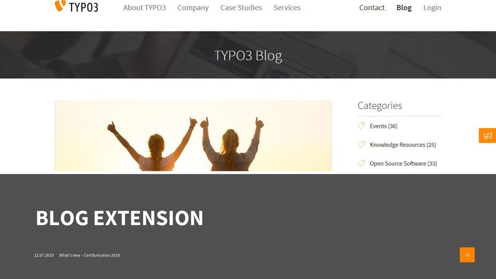 BLOG EXTENSION 12.07.2019 What's new – Certifun...