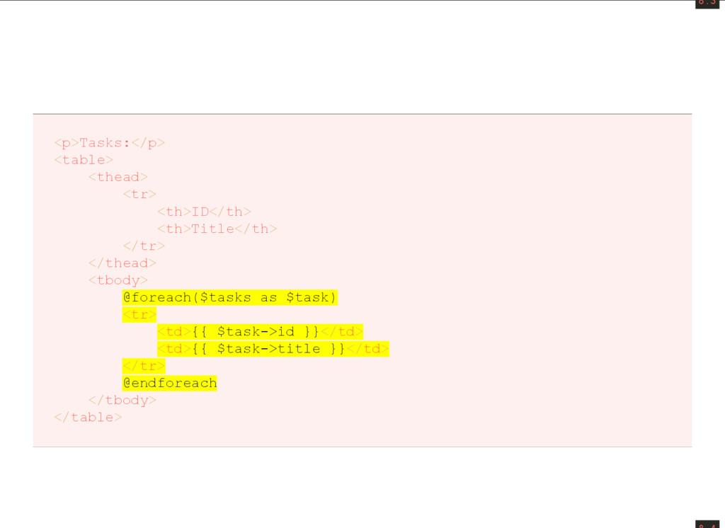8 . 3 <p>Tasks:</p> <table> <thead> <tr> <th>ID...