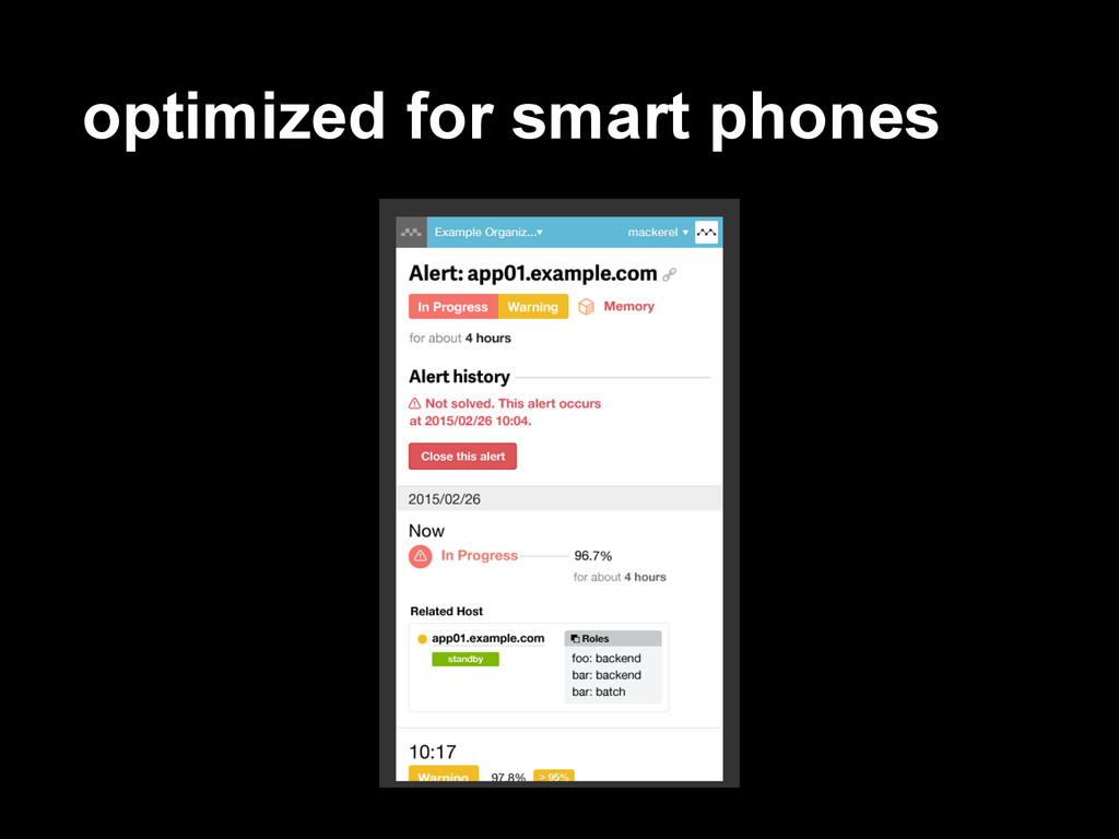 optimized for smart phones