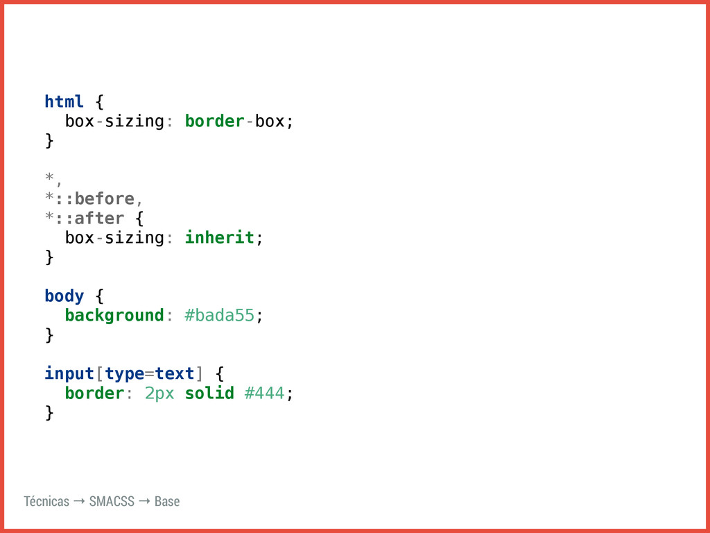 html { box-sizing: border-box; } *, *::before, ...