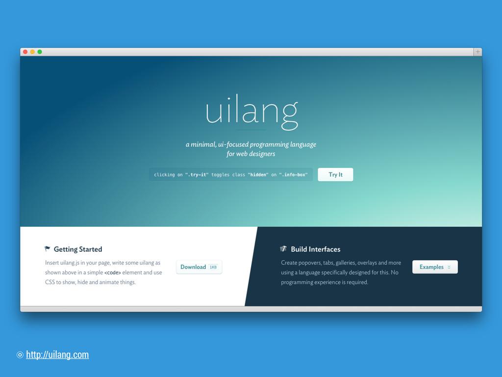 http://uilang.com ⡗