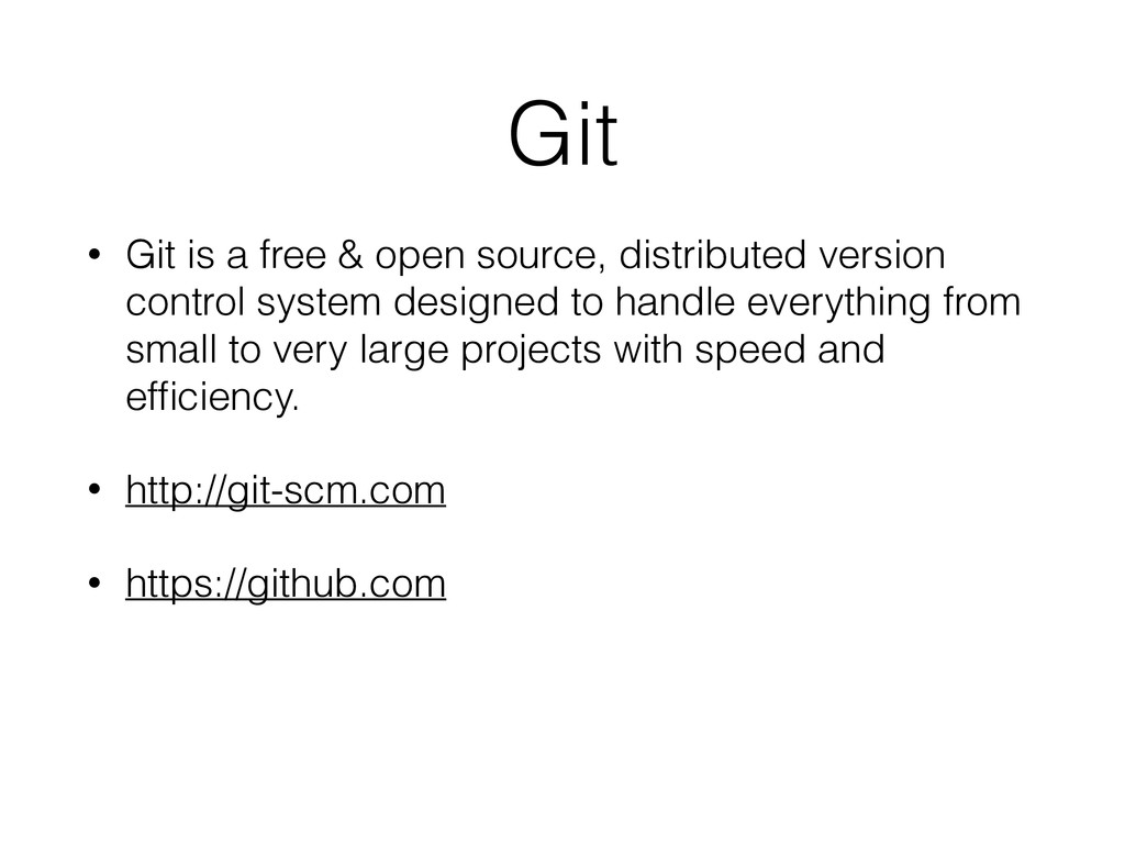 Git • Git is a free & open source, distributed ...