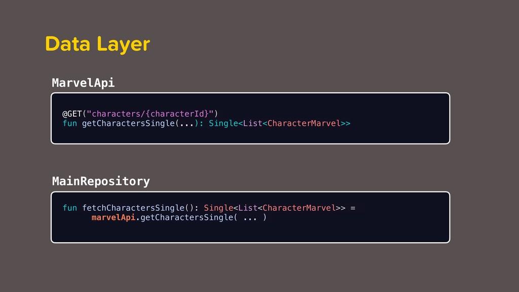 "Data Layer @GET(""characters/{characterId}"") fun..."