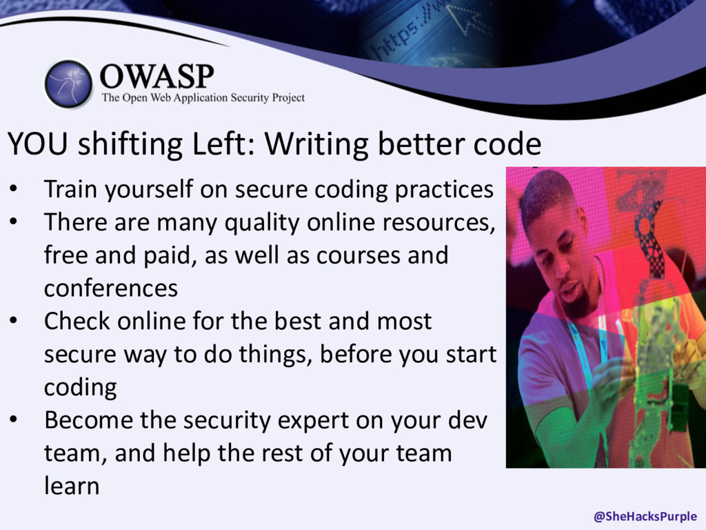 YOU shifting Left: Writing better code • Train ...