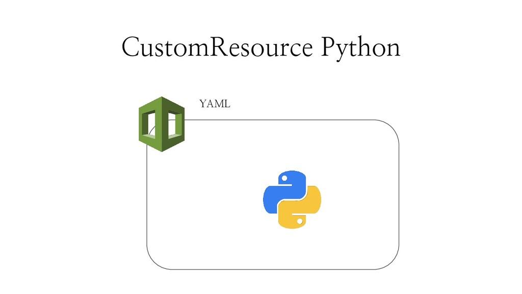 CustomResource Python YAML
