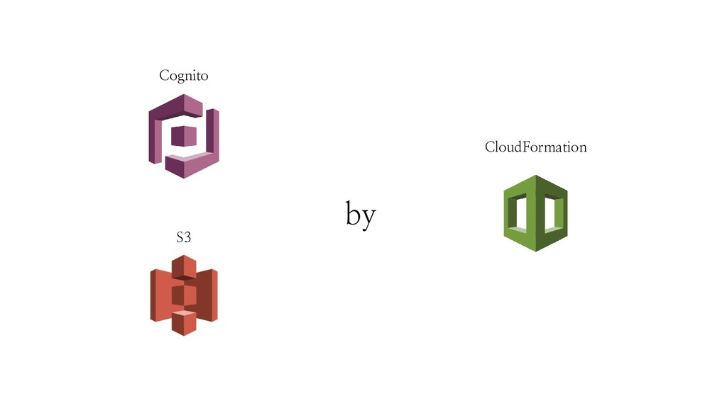 Cognito S3 CloudFormation by