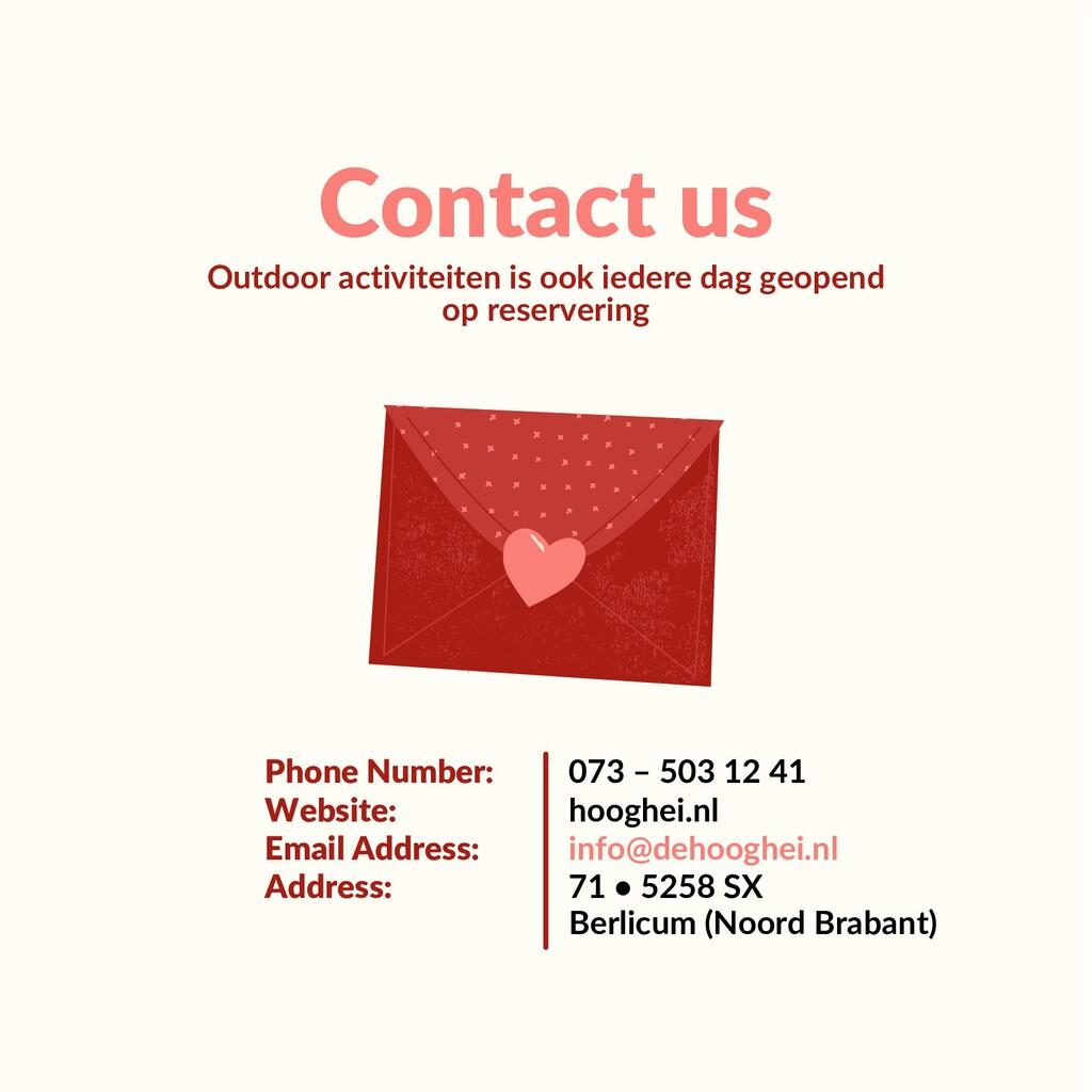 Contact us Outdoor activiteiten is ook iedere d...