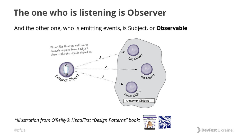 #dfua The one who is listening is Observer And ...