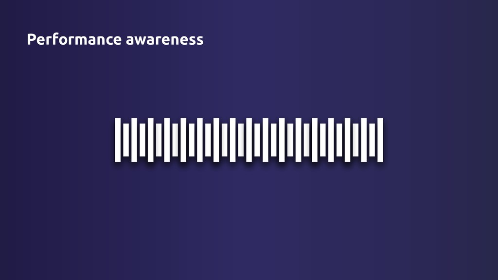 Performance awareness