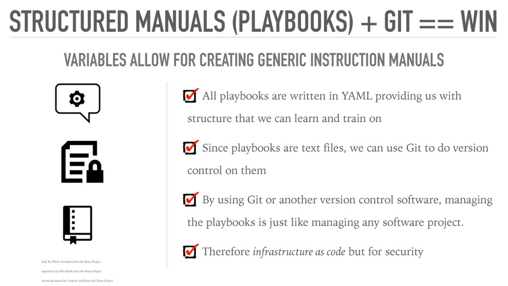 All playbooks are written in YAML providing us ...
