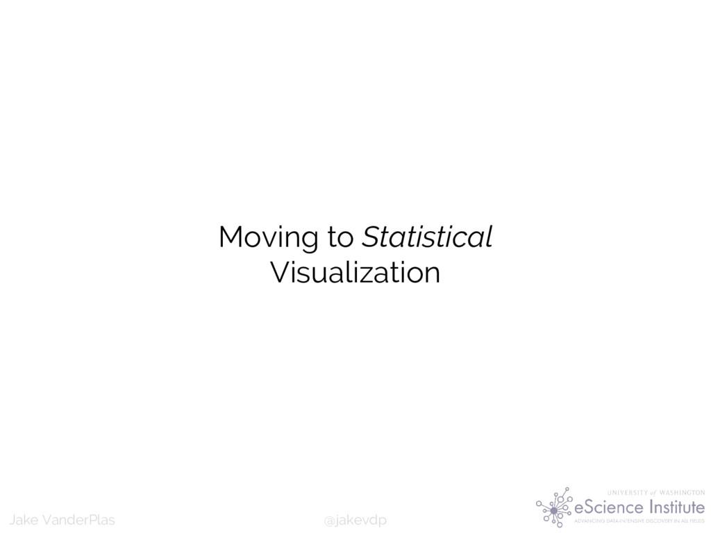 @jakevdp Jake VanderPlas Moving to Statistical ...