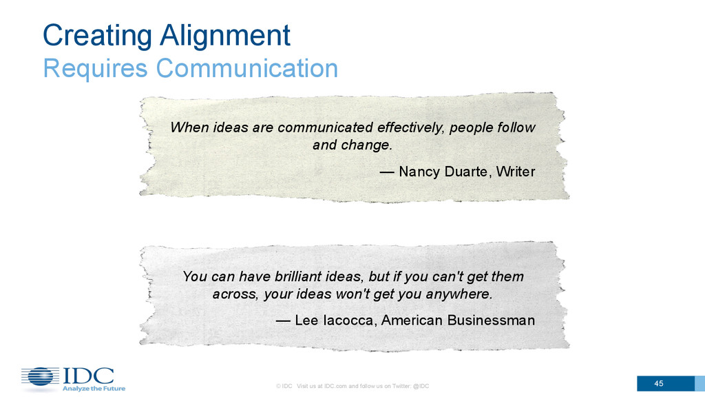 Creating Alignment Requires Communication 45 Wh...