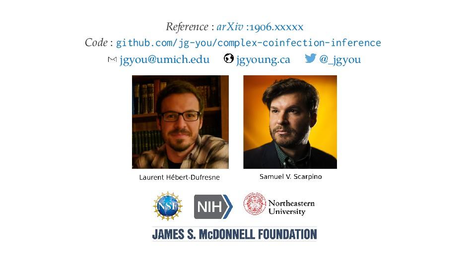 Reference : arXiv : .xxxxx Code : github.com/jg...