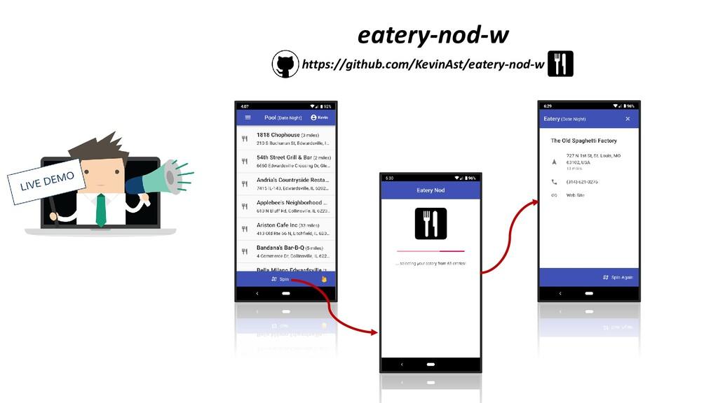eatery-nod-w https://github.com/KevinAst/eatery...