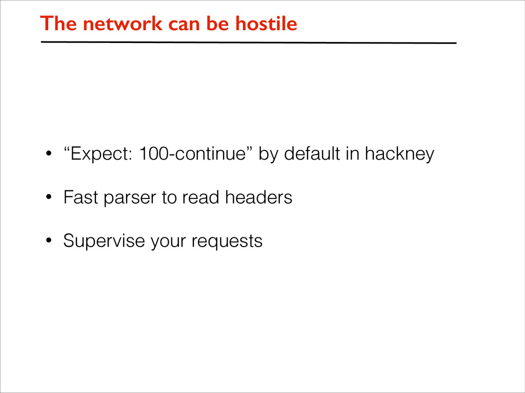 """• """"Expect: 100-continue"""" by default in hackney ..."""