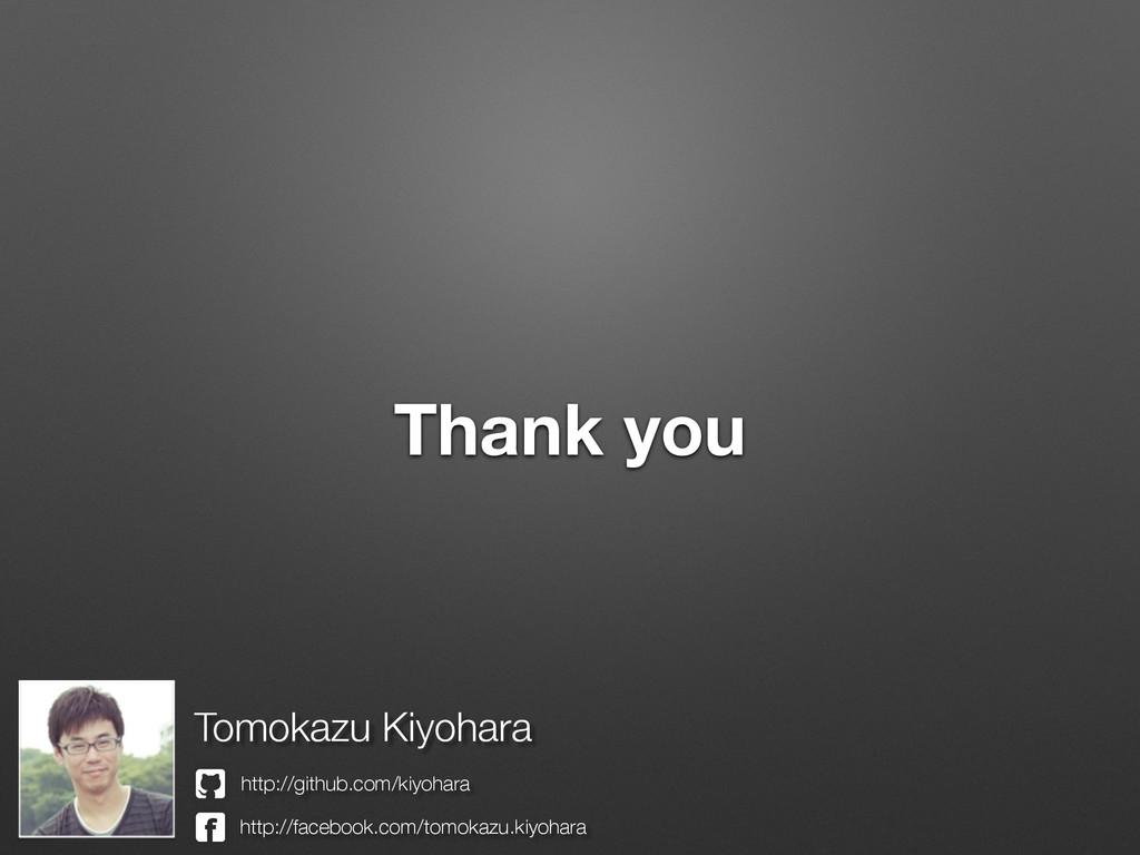Thank you Tomokazu Kiyohara http://github.com/k...