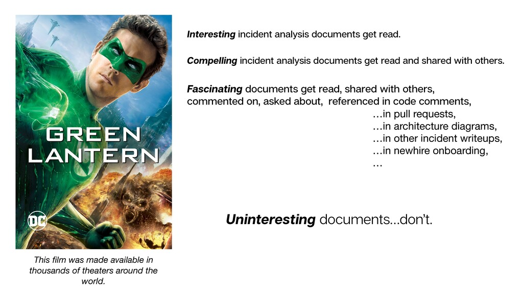 Interesting incident analysis documents get rea...