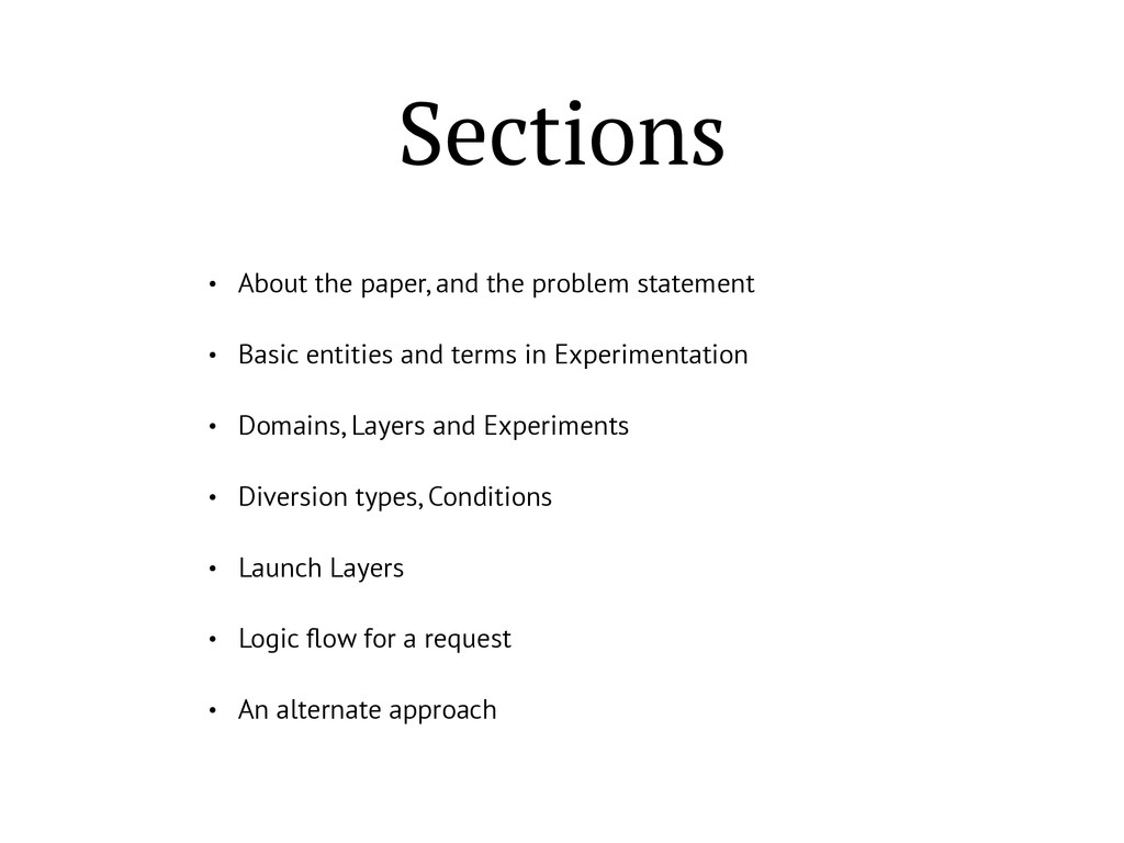 Sections • About the paper, and the problem sta...